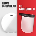 SINGLE-USE FACE SHIELD 10 PACK