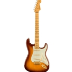 Fender 75th Anniversary Commemorative Stratocaster®, Maple Fingerboard, 2-Color Bourbon Burst Electric Guitar