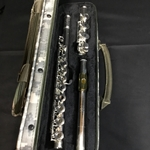 Used Gemeinhardt  KGB Solid Silver Head / Body Open Hole Flute