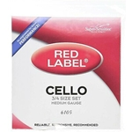Red Label SS6105  3/4 Cello Strings