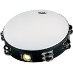 "Remo 10"" Economy Tambourine W/ 8 Single Pairs Of Jingles"