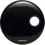 Aquarian Ported Bass Drumhead (22 inch)