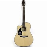 Fender CD-100CE Left-Handed Acoustic-Electric Guitar