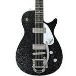Gretsch Jet Baritone Electric Guitar (Black Sparkle)