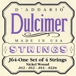 D'Addario 4-string Dulcimer Strings