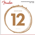 60L 12-53 Fender Acoustic Strings Phosphor Bronze