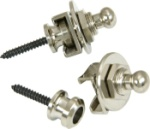 Schaller 445 Security Strap Locks (Nickel)