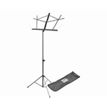 On Stage Folding Music Stand with Bag (Black)