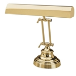 "House of Troy P14-231-61 Pol. Brass 14"" Piano Lamp"