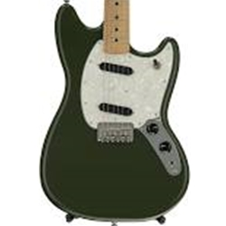 Fender Mustang MN Olive Electric Guitar