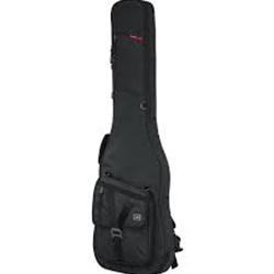 Gator Bass Guitar Transit Series Gig Bag with Charcoal Black Exterior
