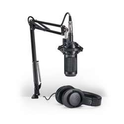 Audio Technica AT2035PK Streaming Podcasting Microphone Pack