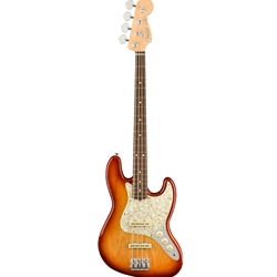 Fender 2019 Limited Edition American Pro Lightweight Ash Jazz Bass® = 8.5 Pounds or Less and 300 Une
