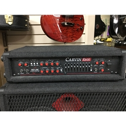 Carvin R600 Redline Bass Amp Head Used