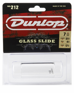 Dunlop 212 Short Heavy Tempered Glass Slide (Small)