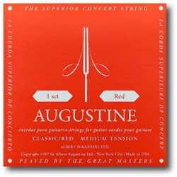 Augustine High Tension Red Classical Strings