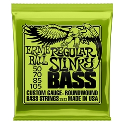Ernie Ball 50-105 regular slinky bass strings