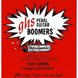 GHS GBC6 Pedal Steel Boomers