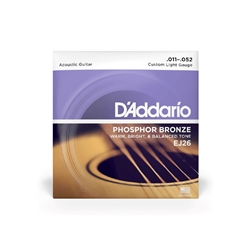 D'Addario Ph. Bronze CULT 11-52 Acoustic Strings