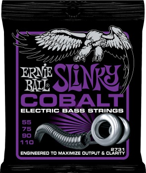 Ernie Ball Cobalt Power Slinky Electric Bass Strings