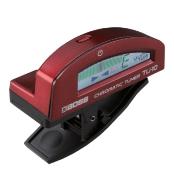 Boss TU10RD Clip on Tuner (Red)